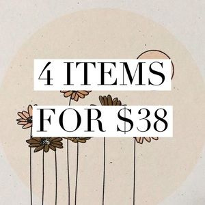 4 for $38